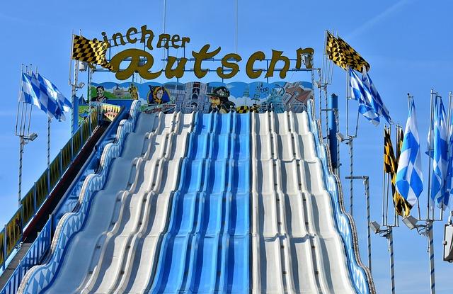 Slide, Folk Festival, Attraction, Year Market, Children