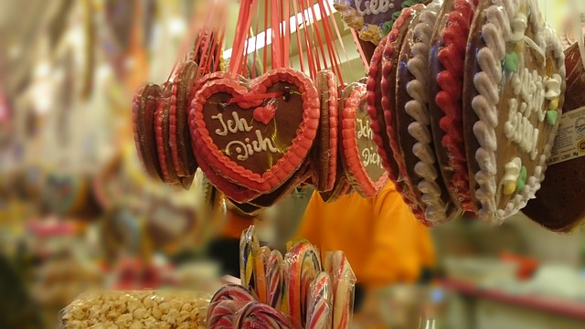 Gingerbread Heart, Heart, Gingerbread, Year Market