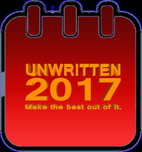 Unwritten, Blank, Forward, New Year's Day, Year