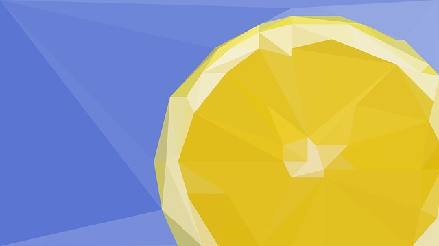 Lemon, Fruit, Frisch, Eat, Low Poly, Sour, Yellow