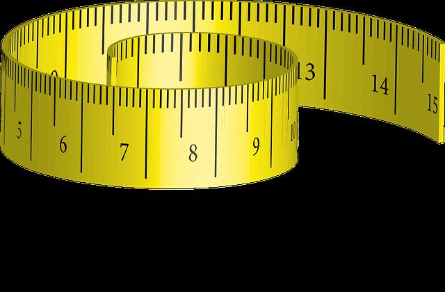 Tape Measure, Measure, Yellow, Distance