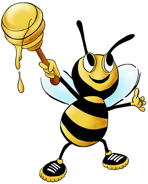 Honey Bee, Bee, Honey, Animal, Insect, Yellow, Nectar