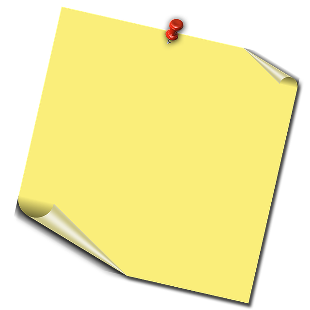 Post-it-chit, Notes, Memo, Office Accessories, Yellow