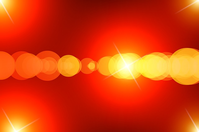 Light, Bokeh, Yellow, Red, Frequency, Out Of Focus
