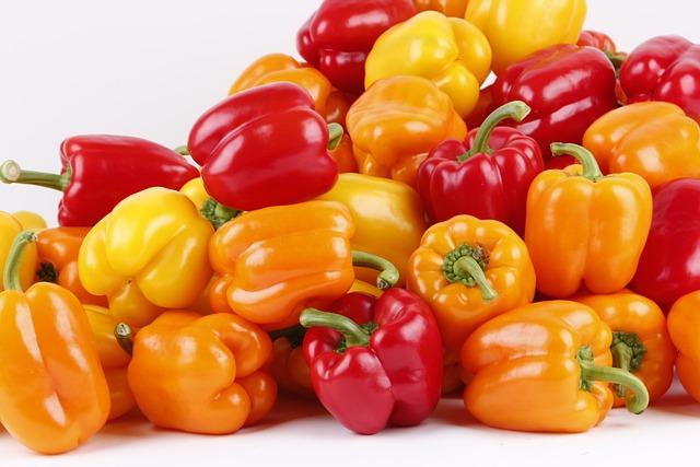 Paprika, Red Paprika, Green Peppers, Yellow Paprika