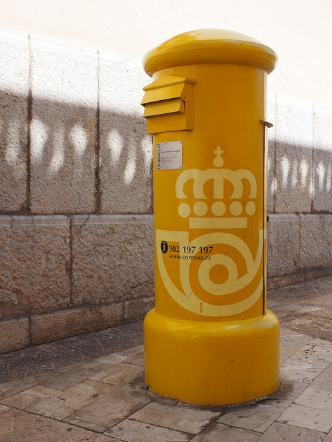 Mailbox, Yellow, Post Mail Box, Letter Boxes, Letters