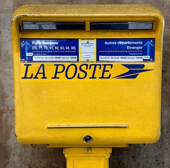 Free photo Yellow Post Mailbox Send Mailing Box Letters ...