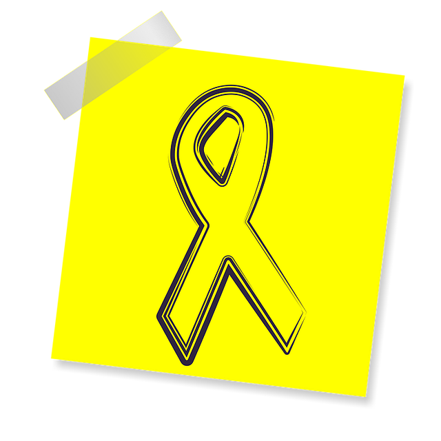 Ribbon, Icon, Yellow Sticker, Note, Post Note