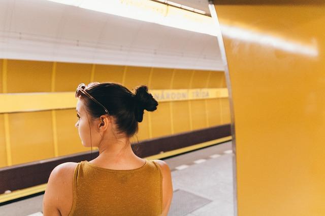 Yellow, Transport, Girl, Woman, Portrait, Model