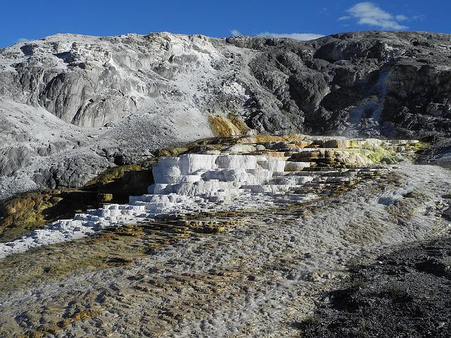 Mammoth Hot Springs, Yellowstone, Spring