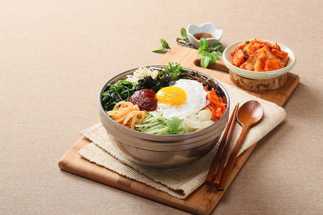 Food Photography, Korean, Bibimbap, Yeongdeungpo Very