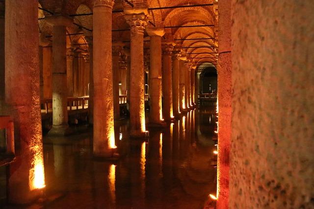 Sunken Palace, Yerebatan Sarnıcı, Istanbul, Cistern