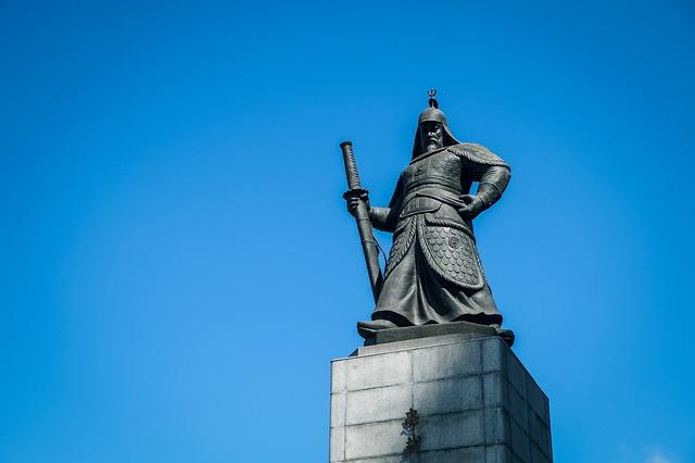Yi Sun Sin, General, Chungmu Park, Gwanghwamun Square