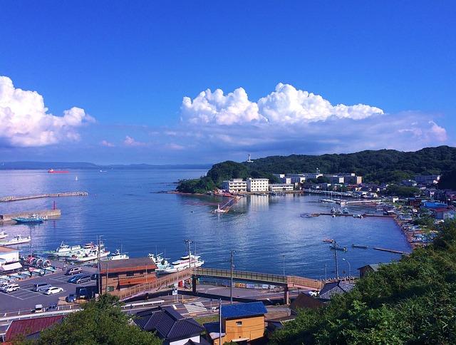 Fishing Port, Yokosuka, Hashirimizu Port, Tokyo Bay