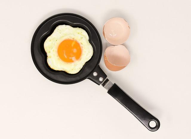 Fried, Pan, Eat, Fry, Yolk, Food, Fried Eggs