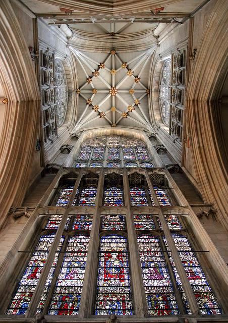 York Minster, Cathedral, Interior, Church, England