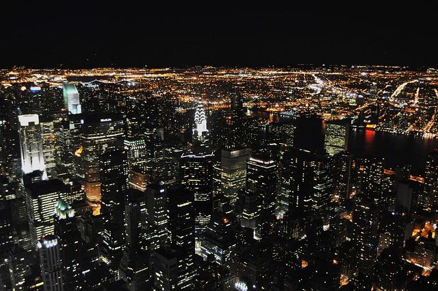 New, York, Manhattan, Skyline, City, Chrysler Building
