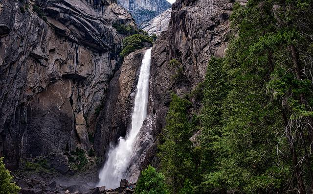 Yosemite, National Park, Mountains, Valley, Ravine