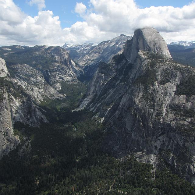 Yosemite, Halfdome, Yosemite Valley, National Park