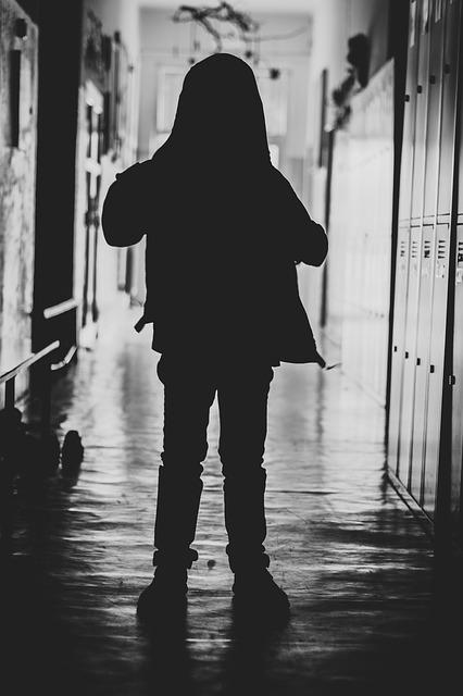 Boy, Silhouette, Young, Child, Person