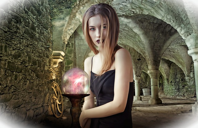 Woman, Female, Beauty, Young, Witch, Sorceress, Lady
