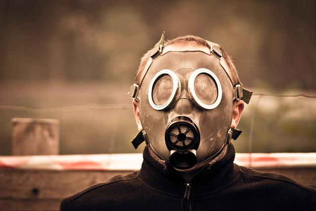 Mask, Gas, Male, Man, Boy, Young, Student, The Student