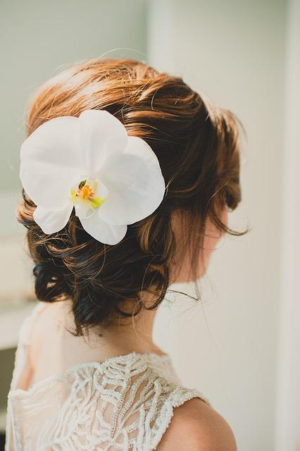 The Beautiful Hair Do, Wedding, Hair, Young, Bride