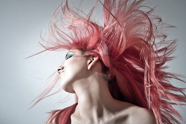 Pink Hair, Hairstyle, Women, Young Women, Modern
