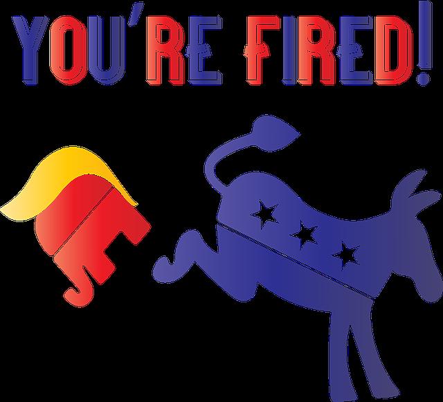 Anti Trump, You're Fired, Trump Lost, Joe Biden Wins