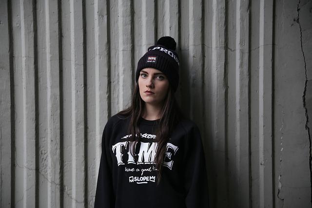 Streetwear, Street Fashion, Girl, Black, Youth