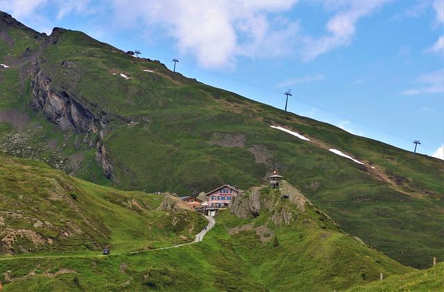 Cable Car, Tilt, Mountain, Cabin, Alpine, Youth