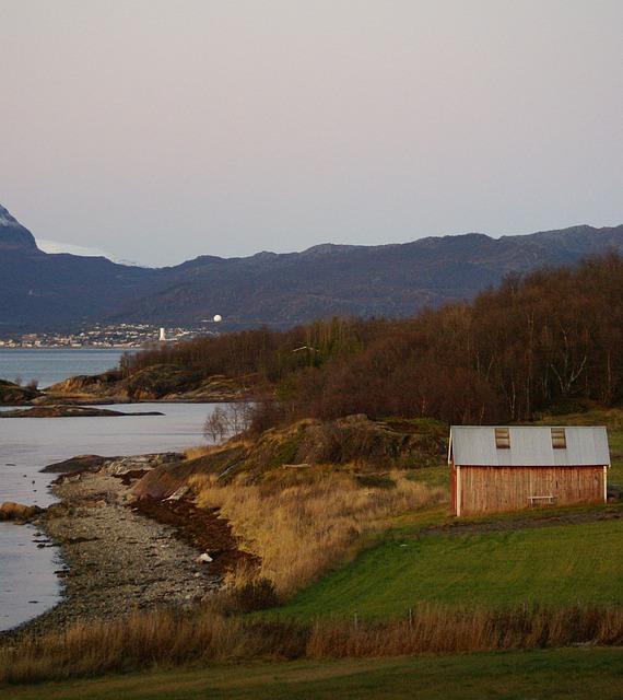 Ytterseines, Narvik, Autumn