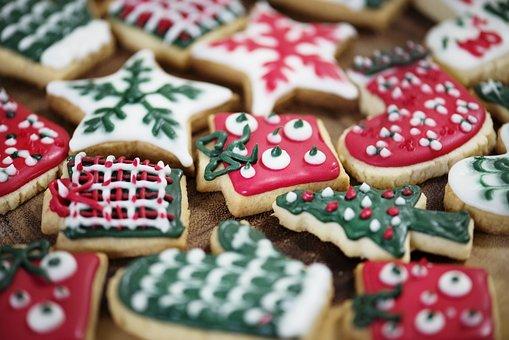 Christmas, Holiday, Yuletide, Cookies, Sweets, Sweet