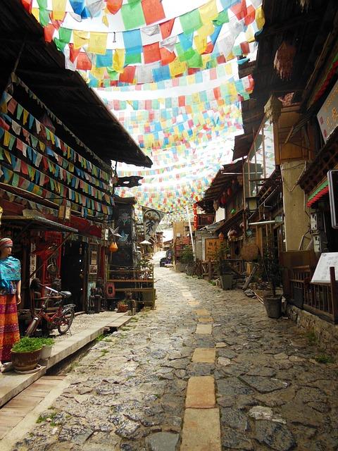 Shangri La, Yunnan, China, Architecture, City