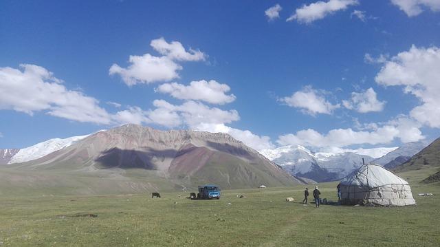 Yurts, Kyrgyzstan, Yurt, Kyrgyz, Felt, Tent, Wild