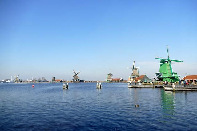 Mill, Water, River, History, Zaandam, Zaanse Schans