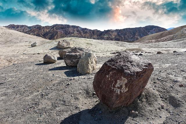 Zabriskie Point, Death Valley, California, Death