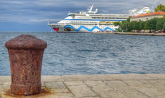 Sea, Waters, Travel, Sky, Tourism, Croatia, Zadar, Port