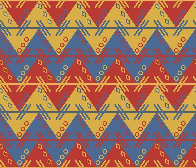 Aztec, South American, Pattern, Zig, Zag, Zigzag