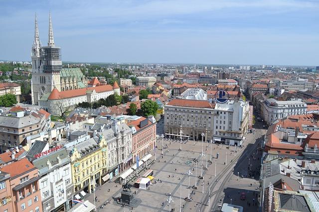 City, Cityscape, Architecture, Town, Panoramic, Zagreb
