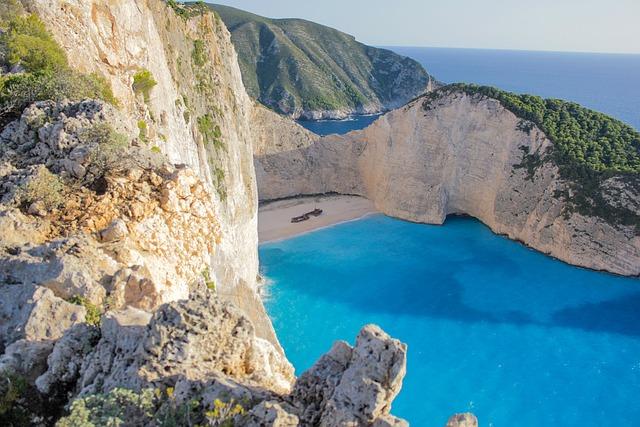 Bay, Navagio, Navagio Bay, Sea, Greece, Zakynthos