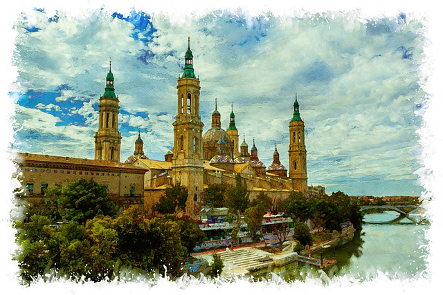 Basilica Of Our Lady Of The Pillar, Zaragoza, Ancient