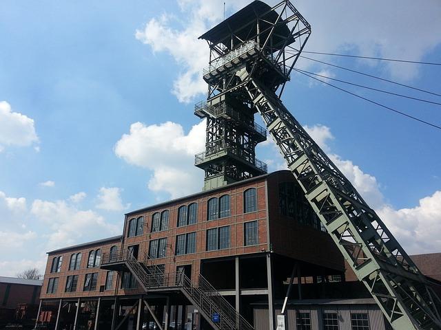 Headframe, Bill, Zeche Zollern, Dortmund, Mining