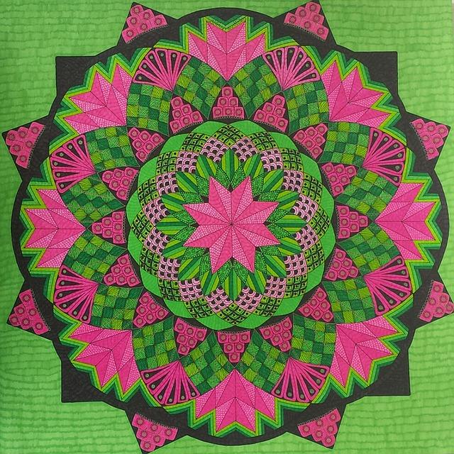 Zentangle, Drawing, Zentangle Pictures, Art, Symmetry