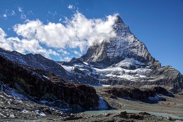 Matterhorn, Switzerland, Valais, Zermatt, Alpine