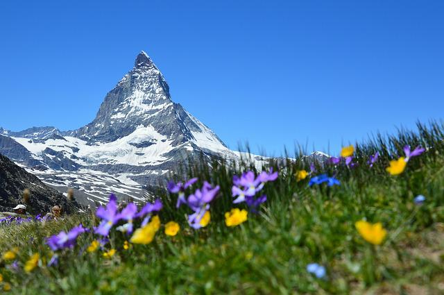 Matterhorn, Alpine, Zermatt, Mountains, Gornergrat