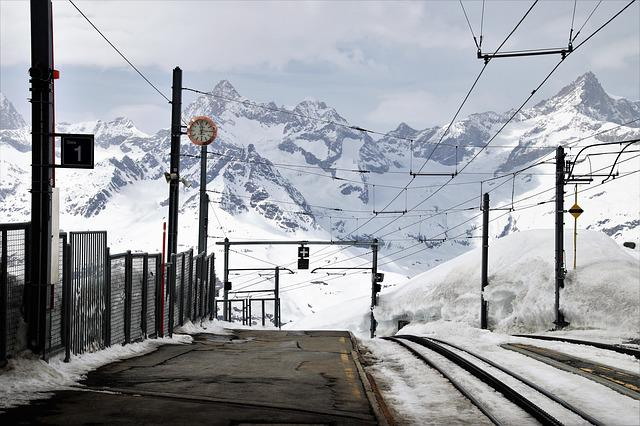 Zermatt, Peron, The Alps, Places Of Interest, Railway