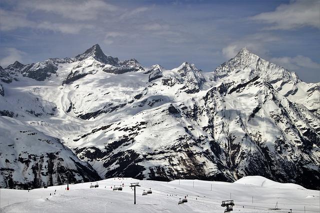 The Alps, Zermatt, Snow, Mountain, Winter, Ice
