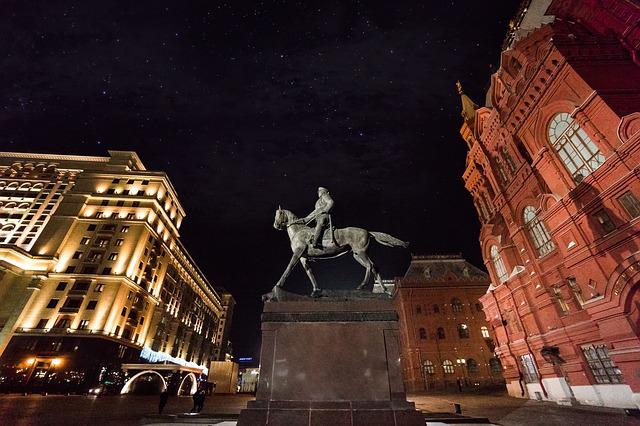 Moscow, Marshall, Zhukov, Red Square, Kremlin, Russia