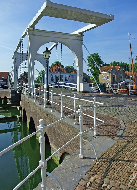 Zierikzee, Netherlands, Bridge, Zeeland